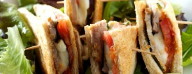 Club sandwichs au veau