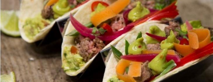 Taco Verde bœuf & Guacamole